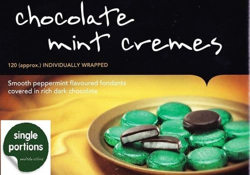 Chocolate Mint Cremes - Individuals