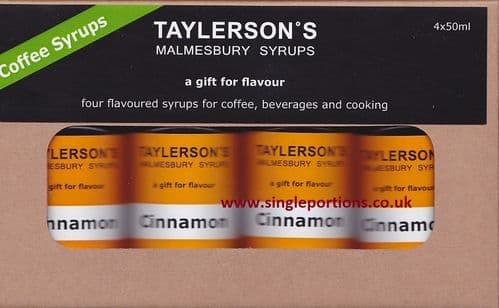 Cinnamon Flavoured Syrup - multi portions