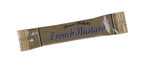 Harrisons (Diners Delight) French Mustard - singleportions