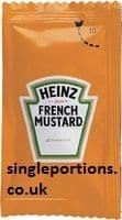 Heinz - French Mustard - single portion sachets