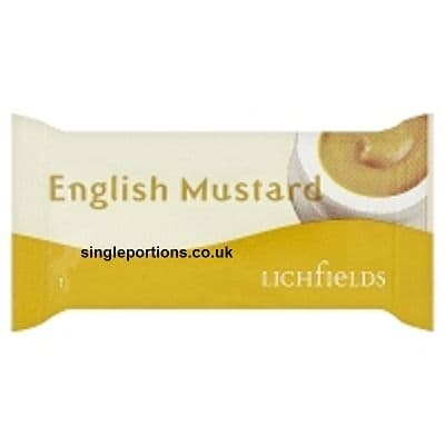 Lichfields - English Mustard - single portion sachets