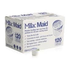 Millac UHT Skimmed Milk - 120 x 12ml - Bulk Portions