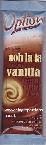 Options - vanilla - single portion sachets online
