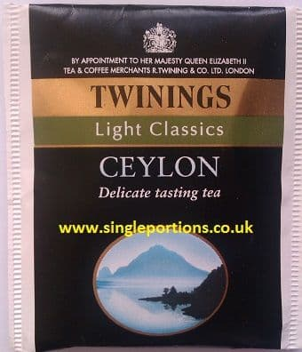 Twinings CEYLON Enveloped Tea Bags