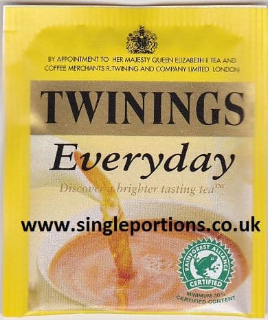 Twinings Everyday Enveloped Tea Bags
