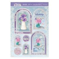 A Lovely Bunch Luxury Topper Set from the Violet Delights Range By Hunkydory