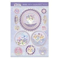 Afternoon Tea Luxury Topper Set from the Violet Delights Range By Hunkydory