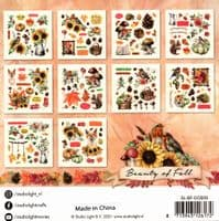 Beauty of Fall Over 300 Paper Elements Pad by Studio Light  (SL-BF-DCB09)