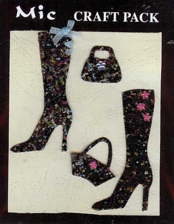 Black Boots & Bags Toppers