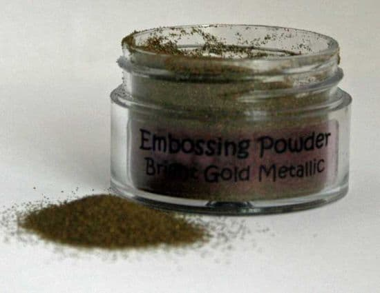 Bright Gold Metallic Cosmic Shimmer Embossing Powder