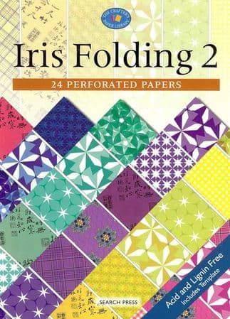 Iris Folding 2 - 24 Perforated Papers