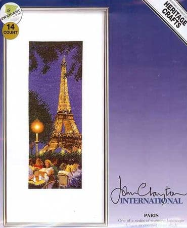 Paris Counted Cross Stitch Kit