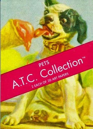 Pets  Artist Trading Cards A.T.C. Collection
