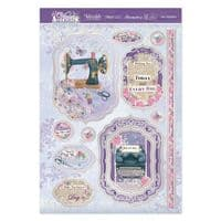 Sew Delightful Luxury Topper Set from the Violet Delights Range By Hunkydory