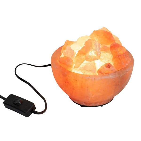 Premium Fire Bowl 2-3kg Himalayan Salt Lamp