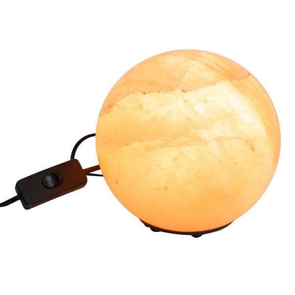 Premium Sphere shaped 4kg Himalayan Salt Lamp