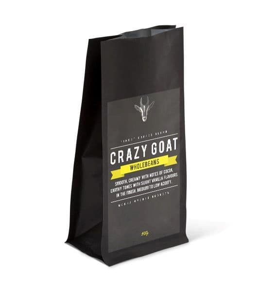 Crazy Goat Coffee - Whole Beans 500g