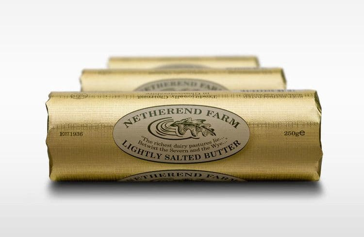 Netherend Farm English Salted Butter
