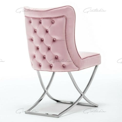 Belgravia Dining Chair -  Pink