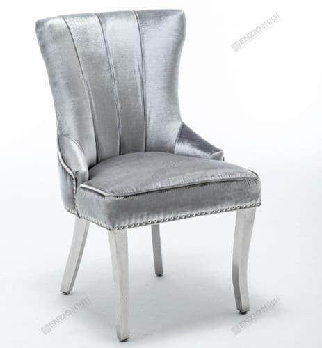 Montpellier Dining Chair - Shimmer Grey