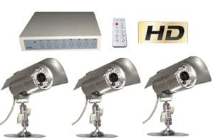 calving camera system with 3 cameras, wired or wireless calving cctv camera system