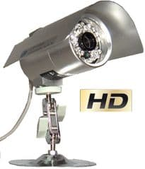 CCTV security camera with night vision and Sony lens
