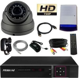 Dome camera and cctv recorder