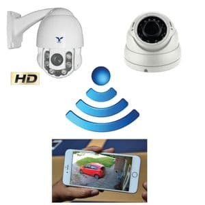 GSM Rotating Zoom CCTV Camera System access your cameras from anywhere.