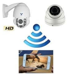 GSM Rotating Zoom Foaling Camera System