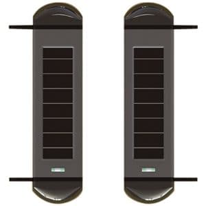 Additional  pair of outdoor wireless beams for outdoor alarm