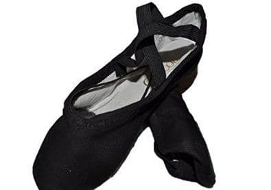 Canvas Split Sole Ballet Shoe SS01CX