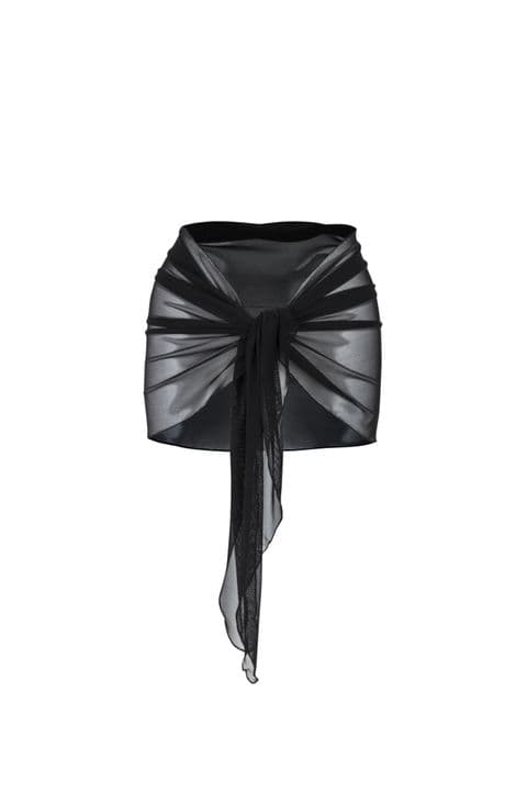 Opal Soft Tie Voile Skirt