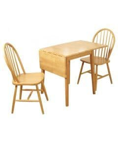 Brunswick Drop Leaf Dining Set with SpindleBack Chairs