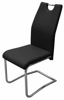 Claire Dining Chair Black