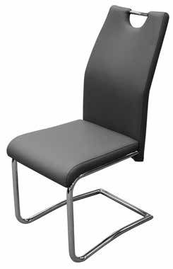 Claire Dining Chair Grey (KD)