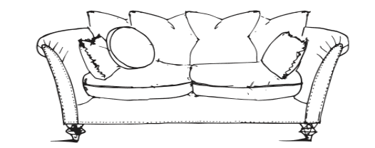 Farmhouse Luxe Medium Sofa