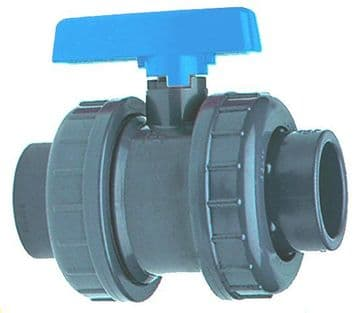 "4"" Double Union Ball Valve"