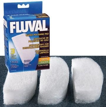Fluval Quick Clear Pad 106/7 206/7 3 pack