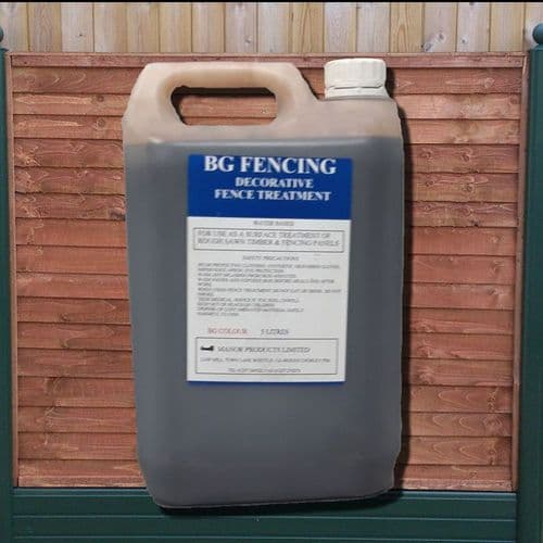 Water Based Fence Panel Wood Stain - Chestnut 5litre