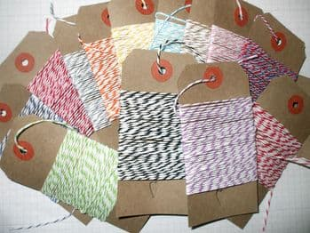 10 MTS  DIVINE BAKERS TWINE Many Colours to Choose From