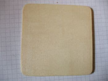 Birch Ply Wooden Square Wood Craft Shape