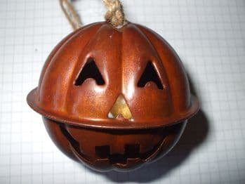 Jack O'Lantern Jingle Bell  60mm