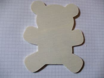 Plywood Teddy Wood Craft Shape