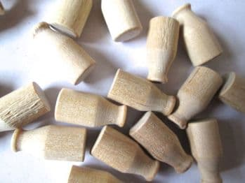 Wooden Miniature Milk Bottles  seconds