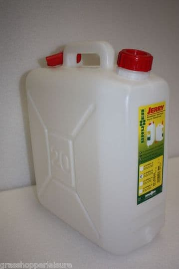 20 Litre Water Container / Jerry With Spout