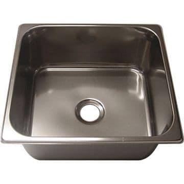 Aravon Rectangular Stainless Steel Sink 35 x 32cm