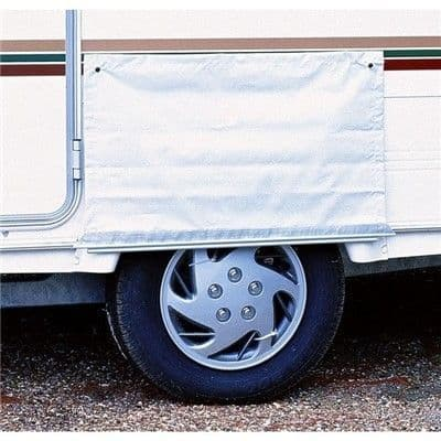 Awning SKIRT WHEEL COVER -DBL WITH FIGURE 8 (00084) - Grasshopper Leisure