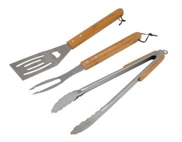 Campingaz Barbecue Universal Utensil Kit Spatula, Tongs & Fork