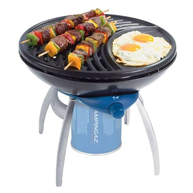 Campingaz 203403 BBQ Gas Party Grill Stove, Portable BBQ Stoves, Fishing Camping Cooking - Grasshopper Leisure