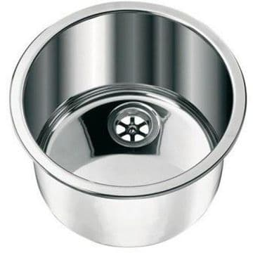 CAN LA1417 Cylinder Round Stainless Steel Sink 300mm